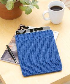 DIY: crochet iPad cozy