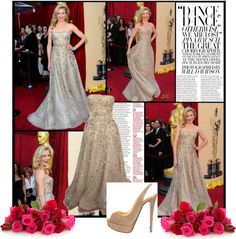 """Cameron Diaz -- Oscars 2010 Red Carpet"" by alessia3012 ❤ liked on Polyvore"