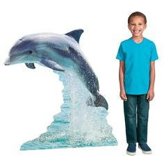 Dolphin Stand-Up - OrientalTrading.com
