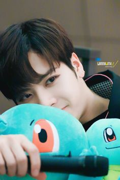 Jackson and squirtles :3