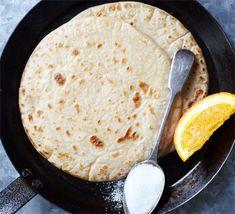 Egg-free pancakes recipe - Recipes - BBC Good Food