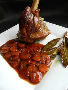 braised lamb mouse with cider and confit with spices - no pie - viande - Dinner Recipes Stuffing Recipes, Turkey Recipes, Dinner Recipes, Batch Cooking, Cooking Recipes, Braised Lamb, Mini Burgers, Lamb Shanks, Albondigas