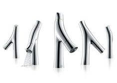 Starck Organic tap - uses 50% less water than a standard faucet ($520) // Philippe Starck for Axor