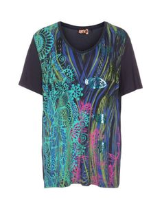 Jerseyshirt  von Aprico. Jetzt entdecken: http://www.navabi.de/shirts-aprico-jerseyshirt-dunkel-blau-bunt-20335-0705.html?utm_source=pinterest&utm_medium=social-media&utm_campaign=pin-it