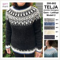 Bilderesultater for telja sweater Knitting Projects, Knitting Patterns, Icelandic Sweaters, Diy Fashion, Womens Fashion, Timeless Fashion, Ravelry, Tatting, Knit Crochet