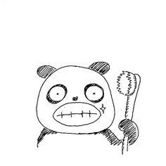 【一日一大熊猫】2016.6.4 いま現在、虫歯のない人は油断しないで! 僕は20歳まで虫歯がなかったのだけど その後ものすごく油断した生活をして 虫歯になった時期があるよ。 後悔しているよ。 #パンダ #虫歯予防デー