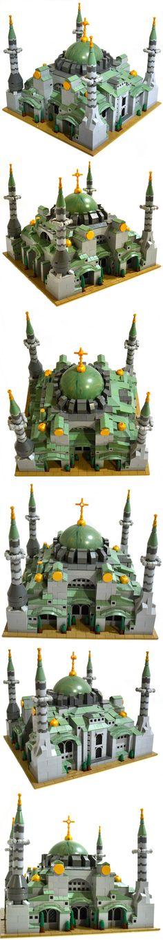LEGO Hagia Sophia    Awesome NPU with Yavin 4 half planet