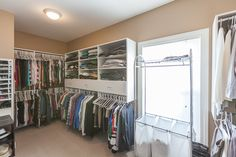 Talk about a dream closet! Those are some awesome built-ins in our 128 Woodhill Trail listing!