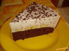 Bananova torta s čokoládovými kúskami
