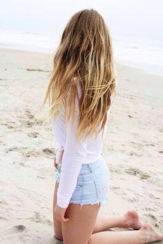 I want surfer girl beach hair!