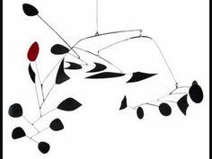 Alexander Calder's mobiles amaze me