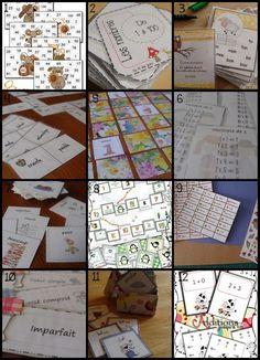 Au fil des jours: 1- Bingo des nombres2- Les nombres de 1 à 1003- Ca...