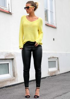 OUTFIT – YELLOW | Frida Grahn