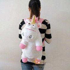 Bag - Despicable Me Unicorn Agnes Plush Backpack - 40% Off!