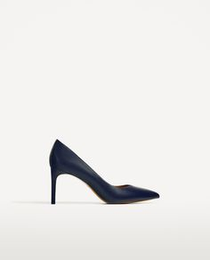 Image 2 of LEATHER HIGH HEEL SHOES from Zara