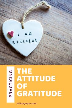 The attitude of gratitude. – Metanoia