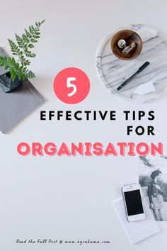 There are plenty of ways you can be productive and efficient. Use these 5 organisation tips to start. Organisation Hacks, Planner Organization, Organized Planner, Organizing, Home Planner, Feeling Frustrated, Productivity Apps, Get Your Life, Motivation Goals