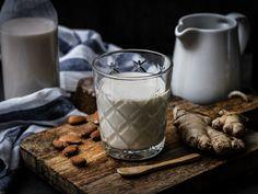 Ingwer Latte Glass Of Milk, Latte, Drinks, Food, Vanilla, Food Food, Simple, Recipes, Beverages