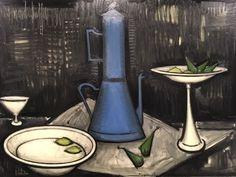 #art #artparis #arty #exposition #expositionparis #exhibition #culture #peinture #bernard #buffet #musée #mam #painting #black