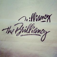 """Polishing the """"The Brilliancy"""" logo for a final stage"""