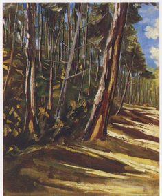 Trees at Mimizan by Winston Churchill