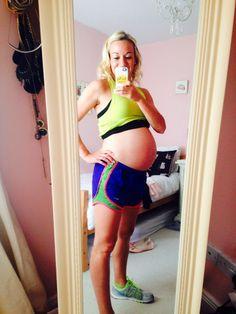 Baby Bump 37 Weeks - 10st 10lb