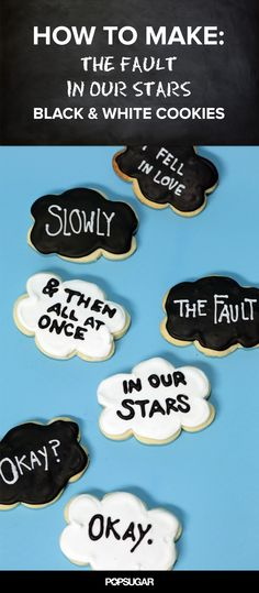 Fault in Our Stars Cookies