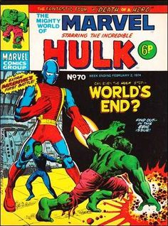 The Mighty World of Marvel #70