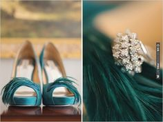 emerald green wedding shoes | CHECK OUT MORE IDEAS AT WEDDINGPINS.NET | #weddingshoes