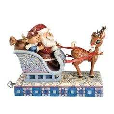 Jim Shore's Rudolph the Red-Nosed Reindeer from How to Create a Rudolph the Red-Nosed Reindeer Gift Set