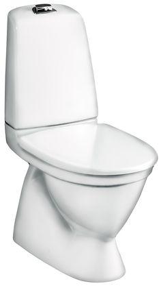 WC-istuin Gustavsberg Nautic 5500, kaksoishuuhtelu 3/6l, piiloviemäri, S-lukko 249€