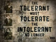 When we remain silent evil flourish.
