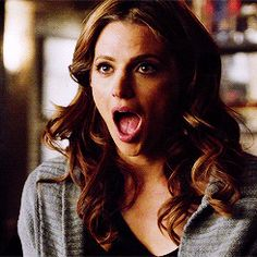 """I'm not laughing"" Kate Beckett/Stana Katic ~ ABC, Castle"