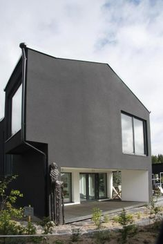 Black brick paint it black architecture pinterest for Phi home designs maine