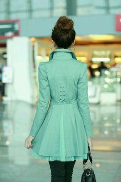 Casaco verde lindo!!!