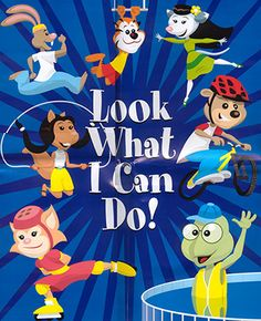 Look What I Can Do! Reinforces positive, healthy choices for children age 5 to 6. Suitable for parents or educators, features the Building Blocks for a Healthy Future characters in a story that encourages children to read, learn to solve problems, and make healthy decisions  FREE download