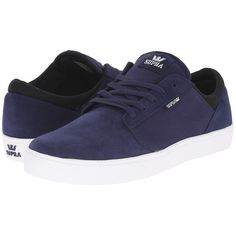 Supra Yorek Low Men's Skate Shoes ($65) ❤ liked on Polyvore featuring men's fashion, men's shoes, men's sneakers, mens hi top shoes, mens hi tops, mens high top sneakers, mens high top skate shoes and mens lightweight running shoes