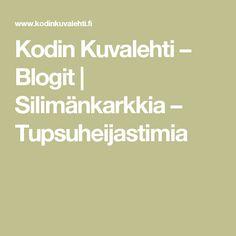 Kodin Kuvalehti – Blogit | Silimänkarkkia – Tupsuheijastimia Math Equations