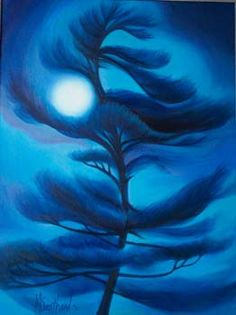 """Moon Dancer / Dancing Tree"" - By Mary Southard"