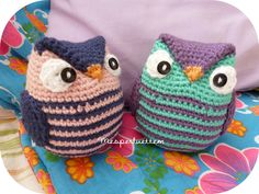 Pearltrees lets you organize all your interests Crochet Owls, Crochet Amigurumi, Crochet Pillow, Crochet For Kids, Amigurumi Patterns, Crochet Crafts, Fabric Crafts, Free Crochet, Knit Crochet