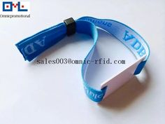 product detail P572894 Custom RFID woven wristband  RFID wristband for event RFID fl