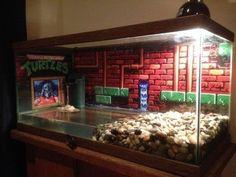 Image result for nerdy fish tank #AquariumTanksIdeas