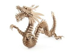 D-Torso Laser Cut Cardboard Animals - Dragon 133 | Products | ALEXCIOUS