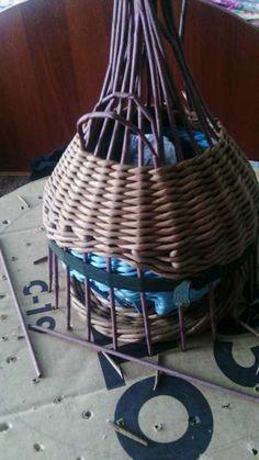 Тема: плетенки от марины (35/51) - Плетение из газет и другие рукоделия - Плетение из газет