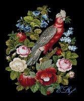 """(4) Gallery.ru / elif84 - Альбом """"WOOLWORK, PARROT & FLOWERS"""""""