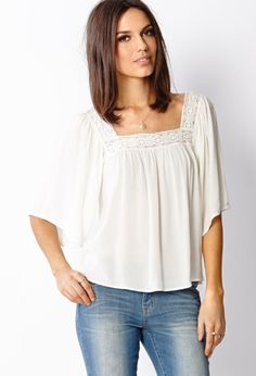 Bohemian Woven Top | FOREVER21 - 2000064069