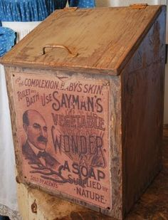 Vintage laundry box