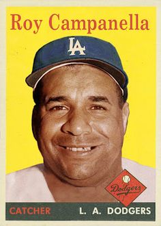 roy campanella card | seven-year-old card collector, besides the Milwaukee Braves' cards ...