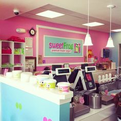 Sweet Frog in Alexandria is the best self-serve frozen yogurt shop I have found!  The flavors are unique and actually TASTE delicious.  Their self-serve topping station is always enticing.  The store is always clean with a bright, friendly staff.  #myhometownpins
