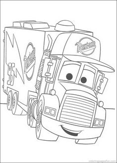 Disney Cars Coloring Pages 50
